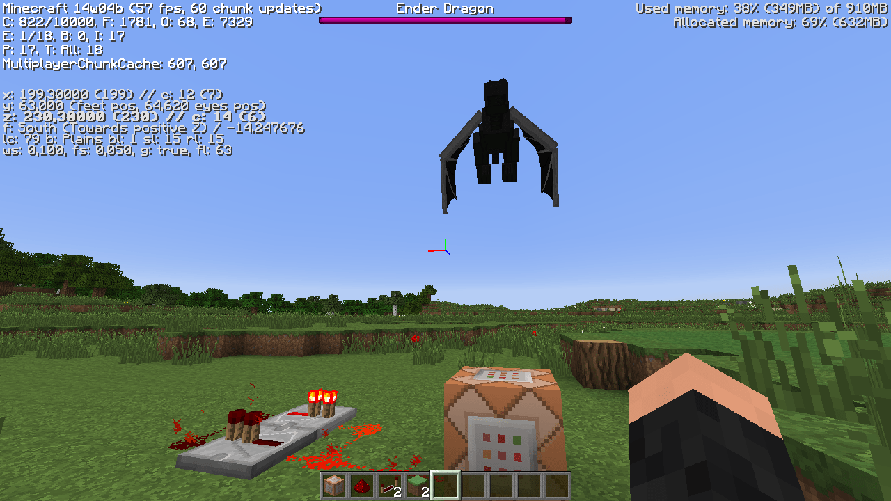 Minecraft How Do I Keep A Summoned EnderDragon In A Cage