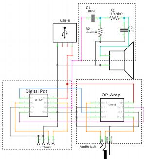 audio  Piezo speaker equivalent for circuit simulator