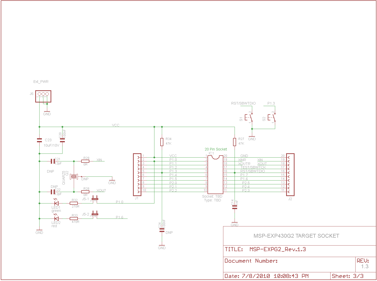 Using External Oscillator For Msp430 Timer