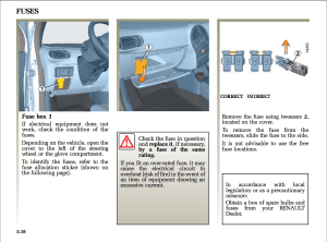 Fuse box location for 2006 Renault Scenic  Motor Vehicle
