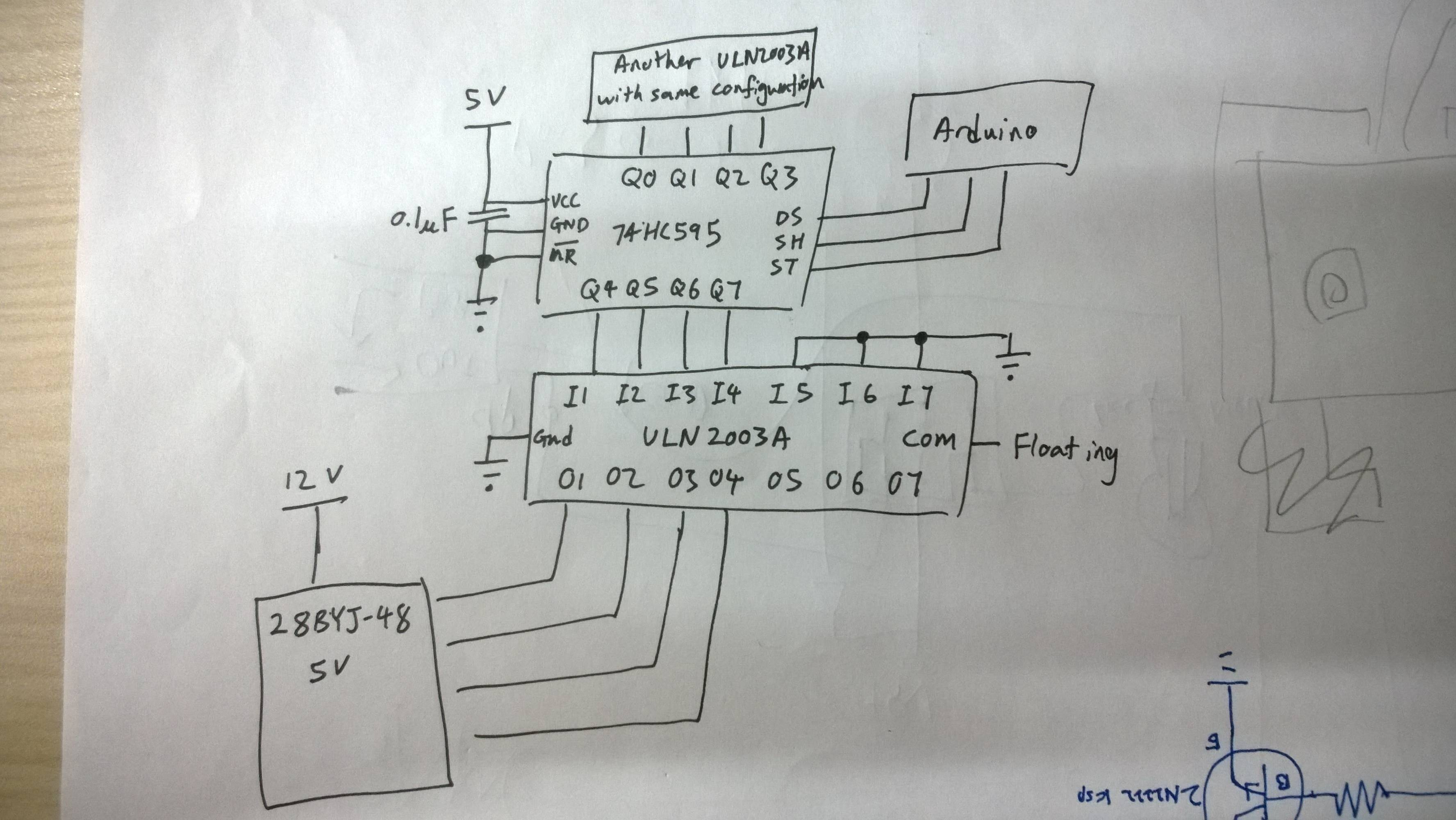Arduino Stepper Motor Wiring Diagram