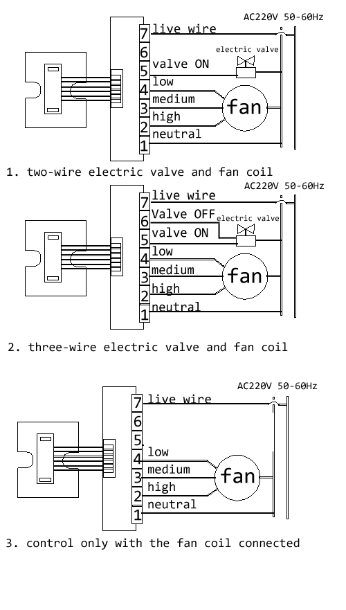 how to wire a/c thermostat given different wiring