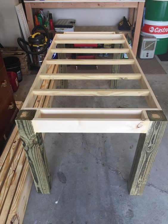 to stabilize a table with hairpin legs