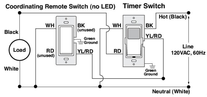 leviton timer switch wiring diagram  schematic wiring