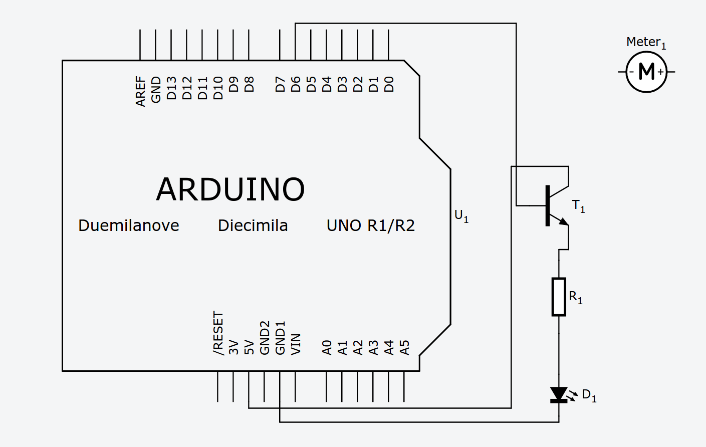 Got Very Low Current From Pwm In Arduino