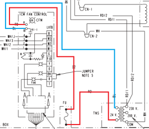 wiring  Help with c wire on American standard air handler  Home Improvement Stack Exchange