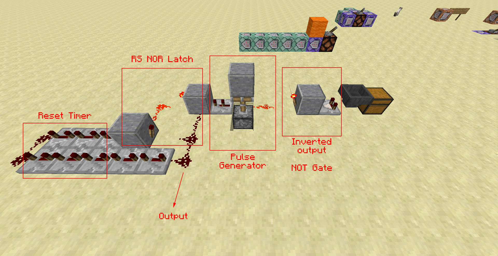 Help With A Minecraft Redstone Mechanism