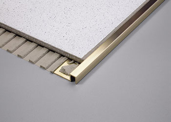 recommended height for tile edging