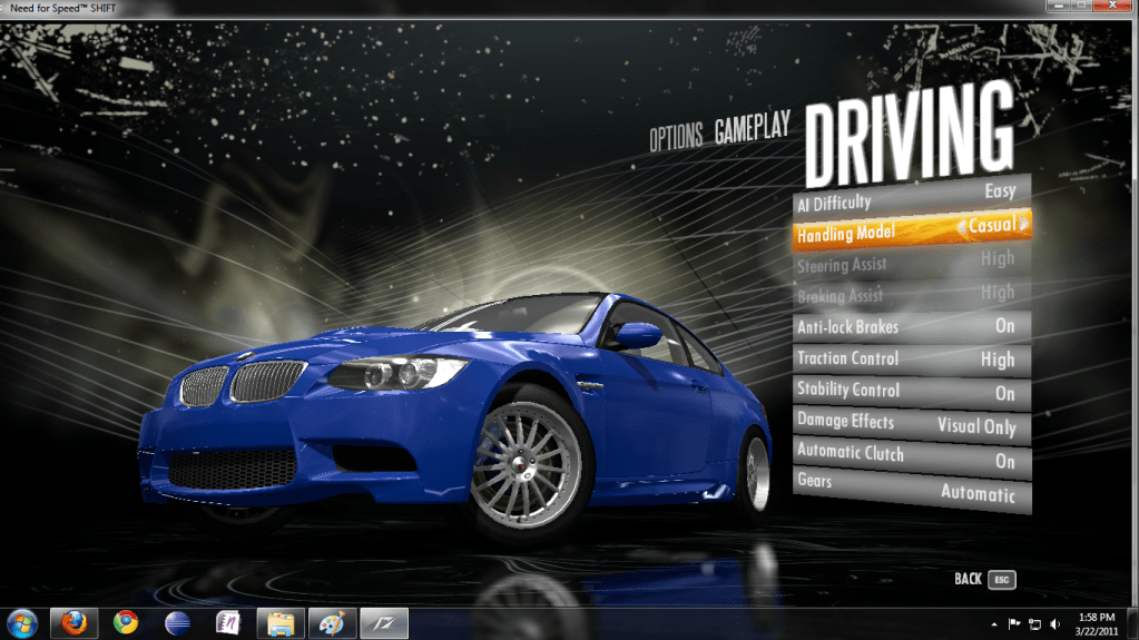 Keyboard How To Adjust The Controls For NFS Shift To