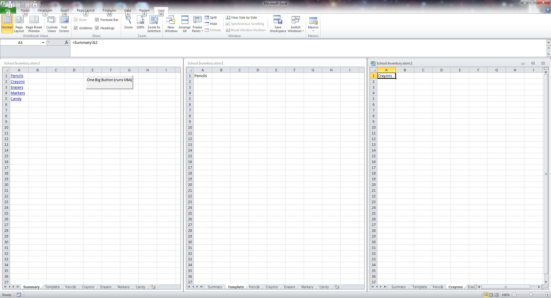 Copy Data From One Sheet To Another In Excel Using