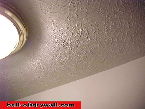 Texturing Ceilings With Joint Compound And Texture Brush | www ...