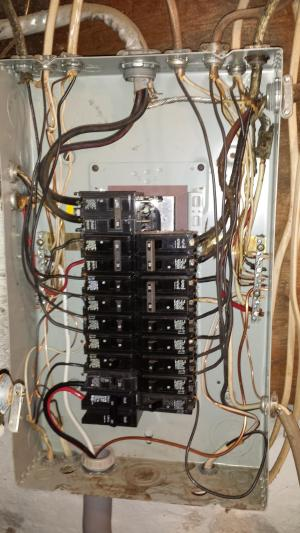 Is the wiring in this subpanel correct?  Home Improvement Stack Exchange