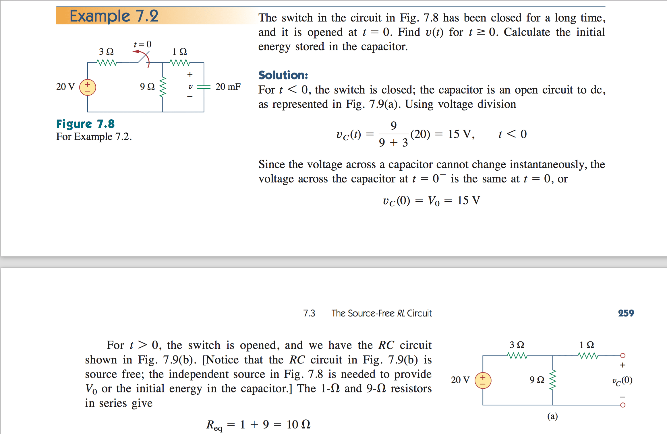 Since There Is A Voltage Drop Occur Across A Resistor In Series What Happens When There Is Also