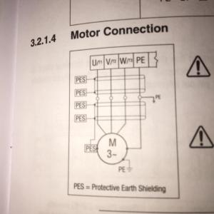 wiring  How to wire 3 phase motor to VFD  Electrical