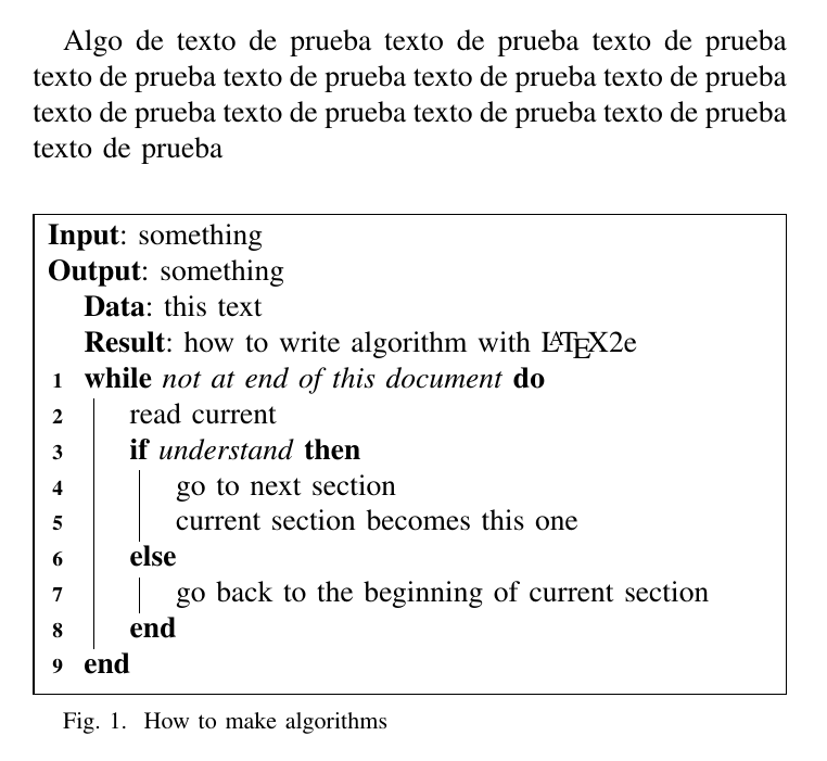 Ieeetran How To Change Algorithm Caption To Figure