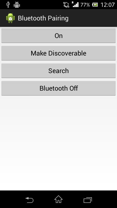 Bluutooth Demo