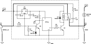 automotive  Relay for Intermittent Wiper Function  Electrical Engineering Stack Exchange