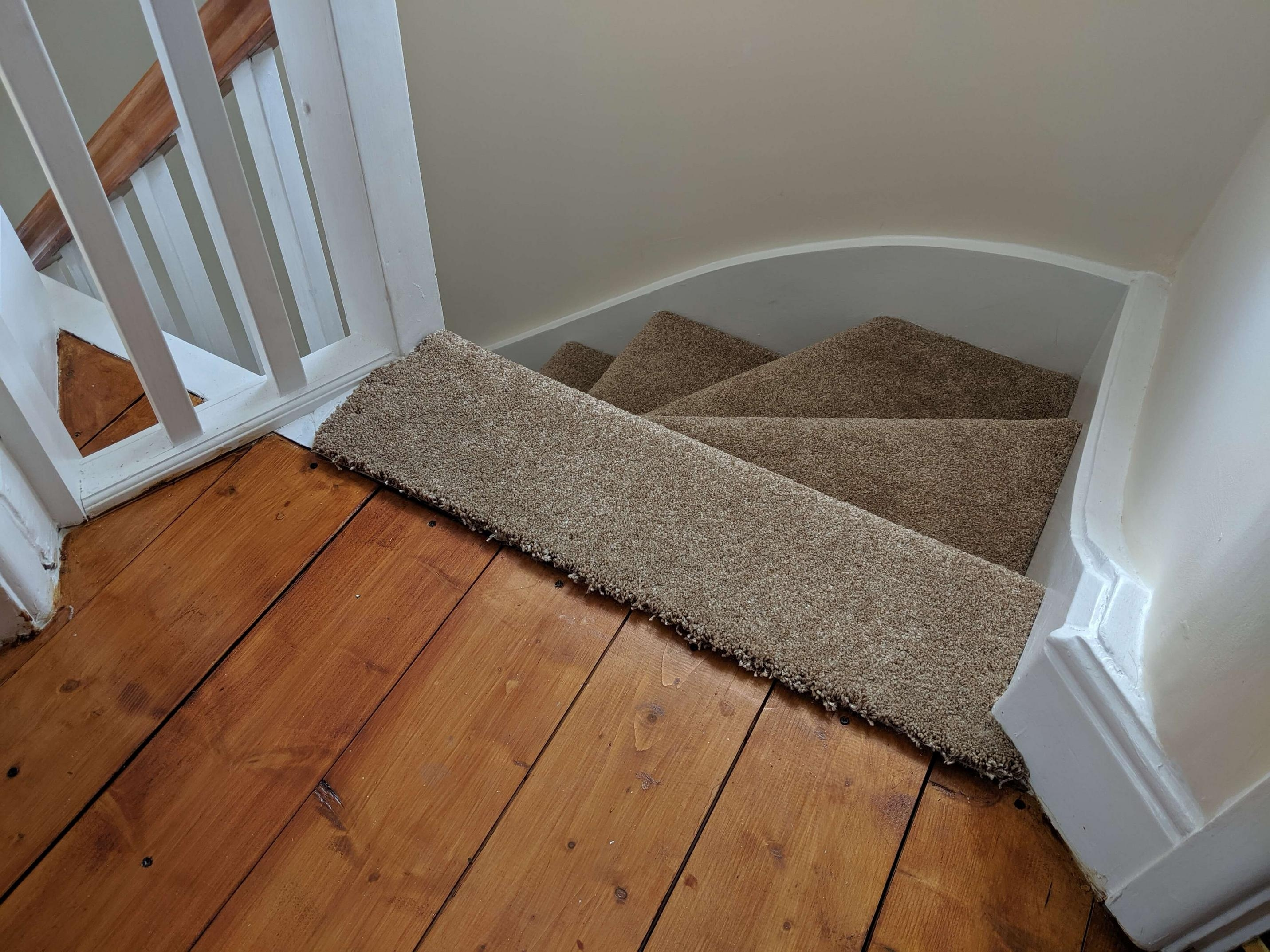 Which Style Transition Threshold Do I Need For Carpeted Stairs To | Hardwood Floor To Stair Transition | Tile | Molding | Vinyl Plank | Laminate | Carpeted Stairs