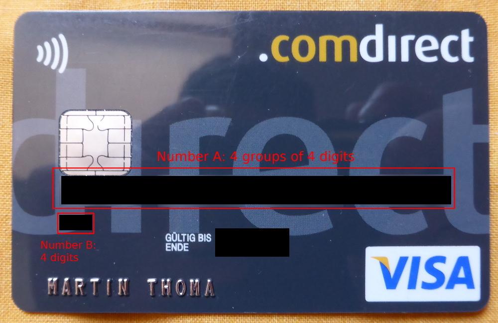 Image Result For Credit Card Number