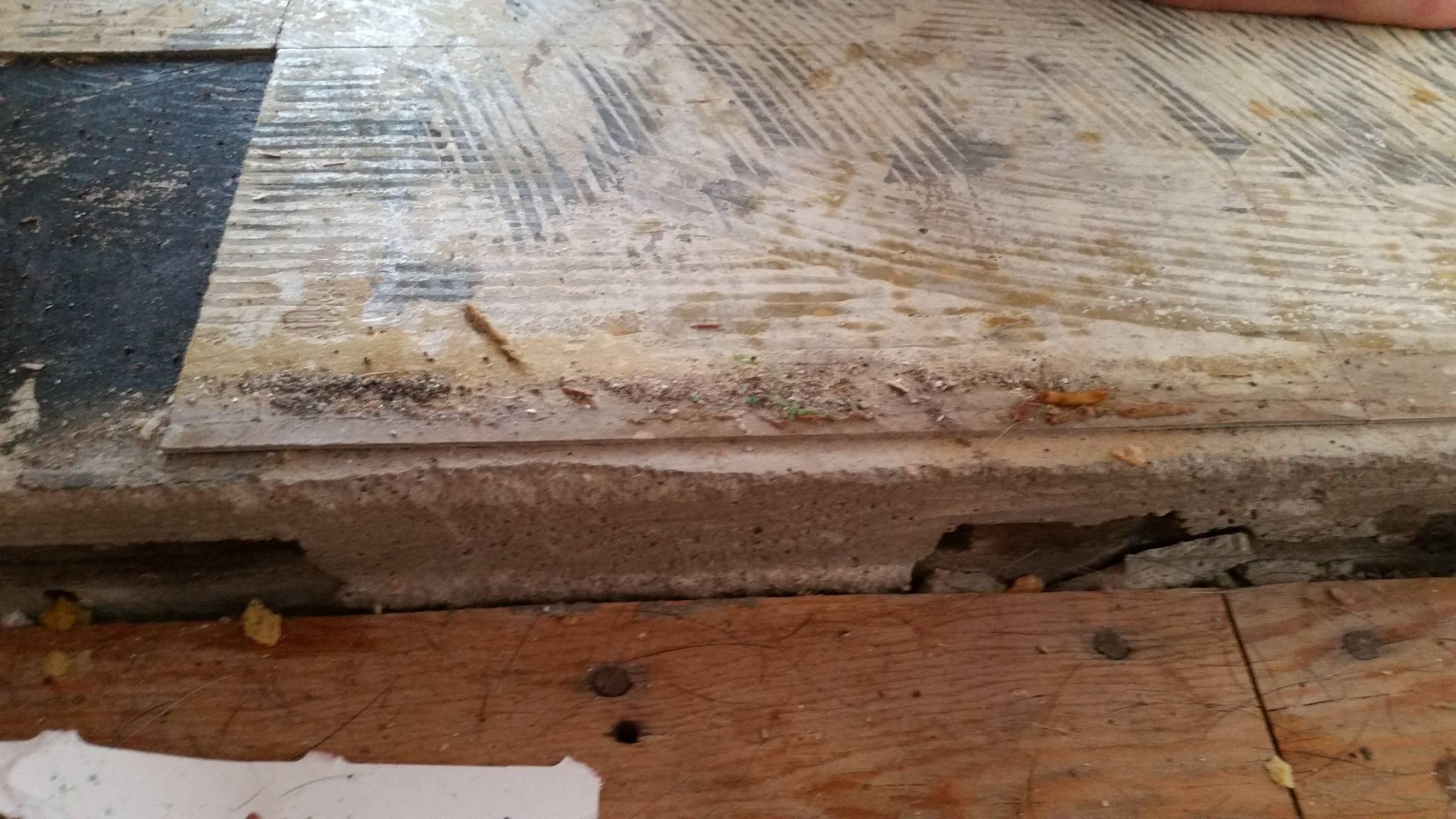 dealing with asbestos floor tiling