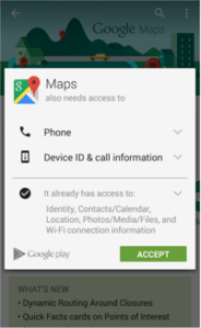 Why does the Google Maps app need my phone call permission     enter image description here  permissions google maps