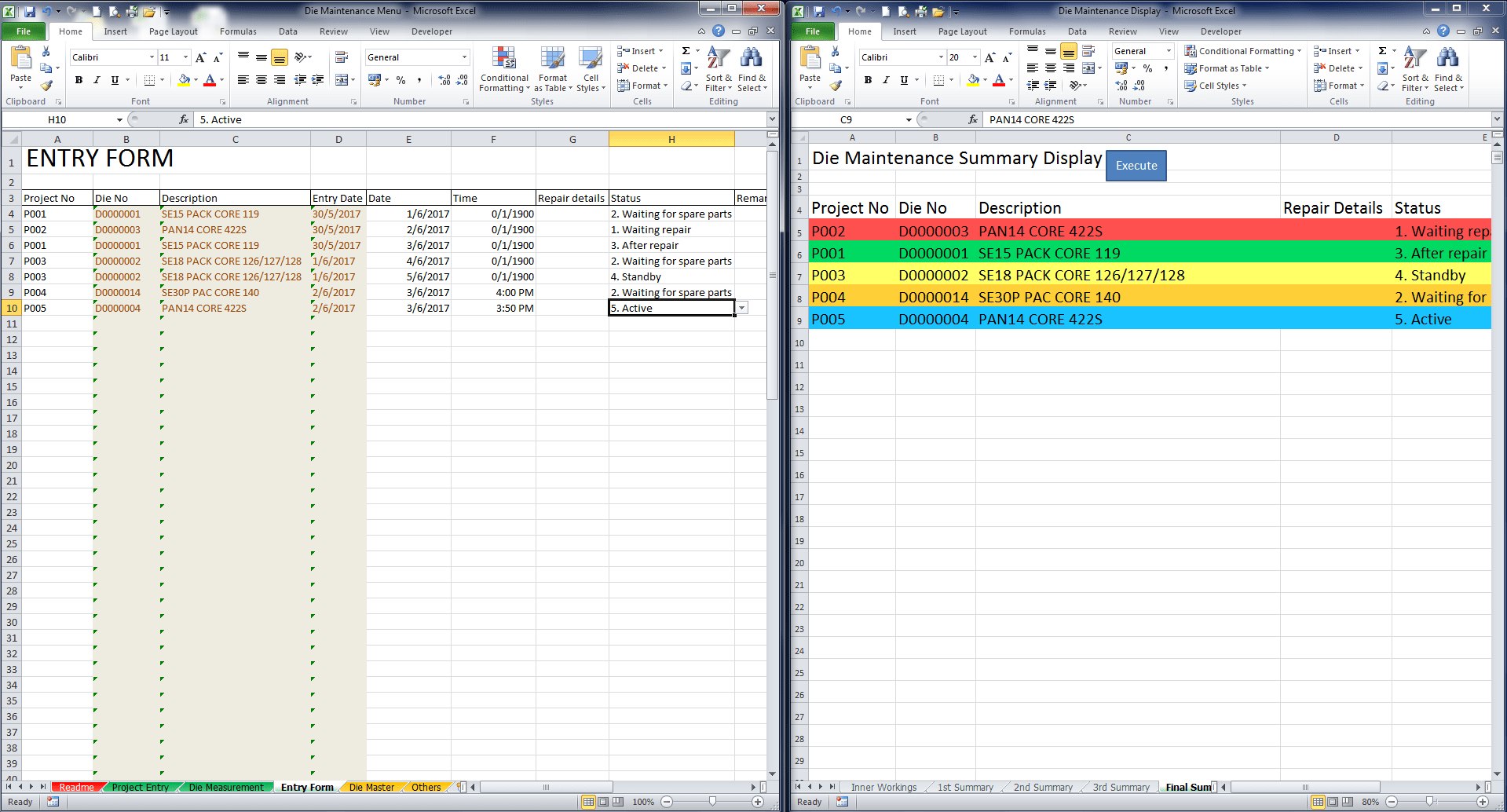 How To Properly From Vba Connection From Excel Sheet To