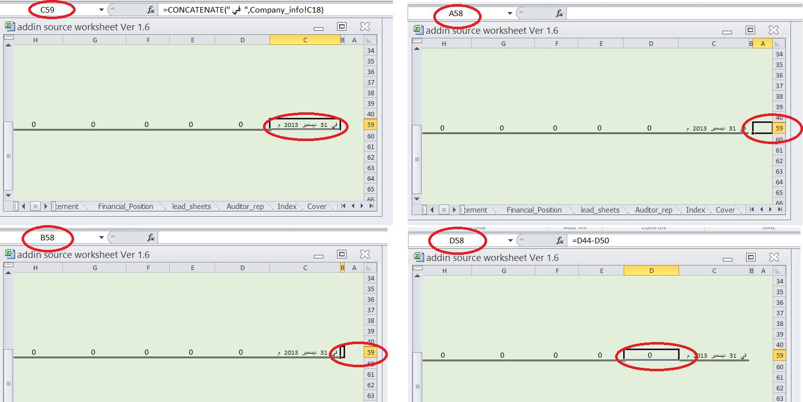 Excel Row Mixup