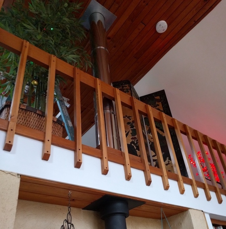 Extend Height Of Wooden Railing Home Improvement Stack Exchange | Wood Balustrades And Handrails | Balcony Railing | Deck Railing Ideas | Railing Systems | Wrought Iron Balusters | Stair Railings