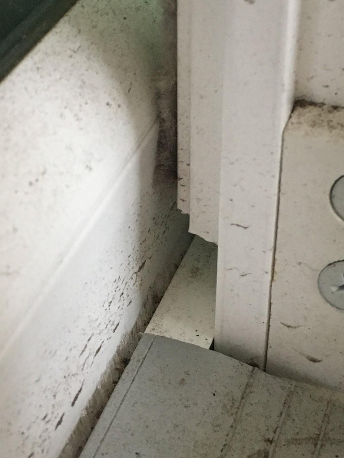 fixing sliding door weather stripping