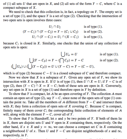 General Topology For The Existence Of One Point