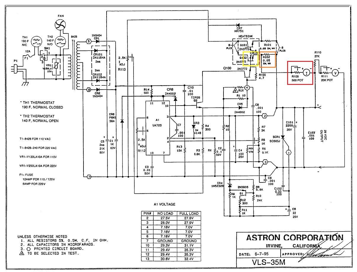 Astron 35a Power Supply Schematic Tripp Lite Schematics Elsavadorla