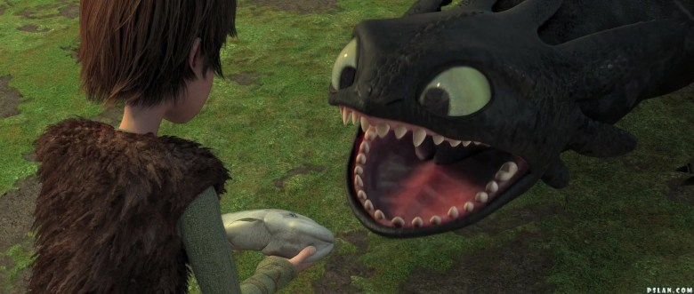 Image result for hiccup and toothless httyd 1
