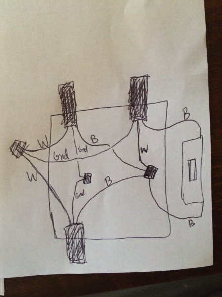 electrical   Strange light switch wiring    why would neutral and     wiring diagram