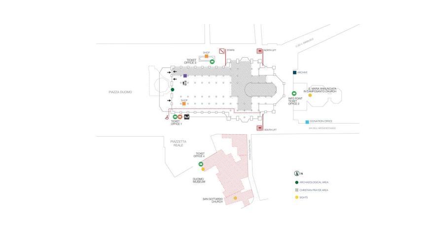 Milan Cathedral / Duomo di Milano Ticket Selling Points