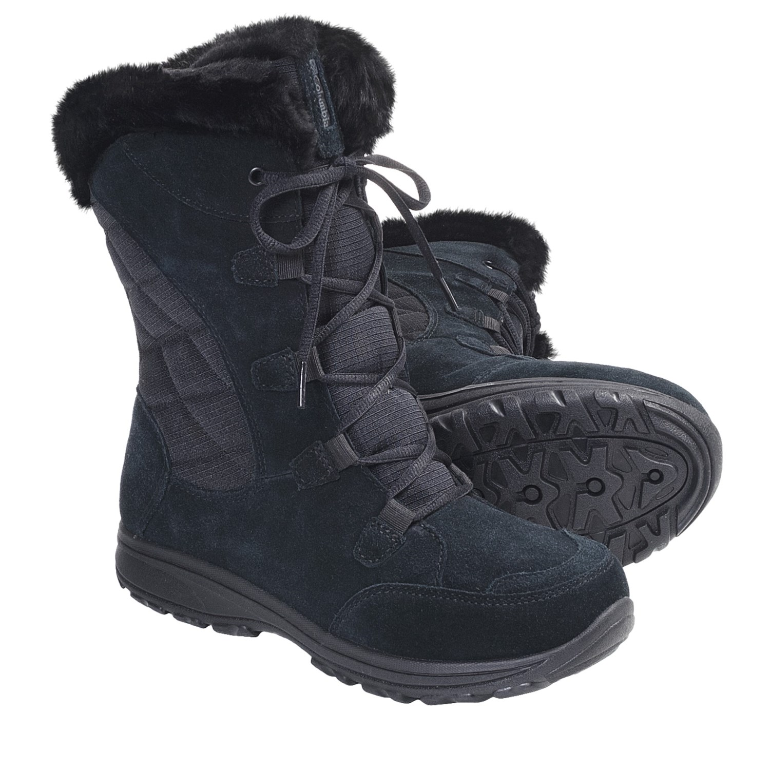 Image result for columbia black winter boots