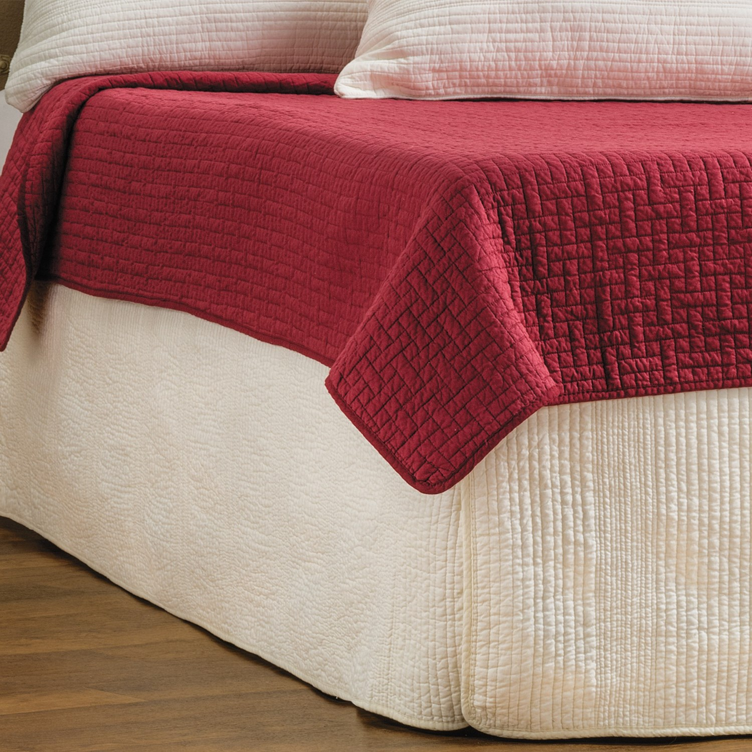 Ivy Hill Home Winslet Quilted Bed Skirt