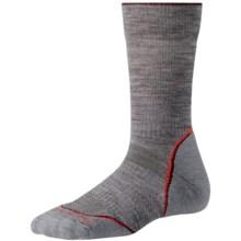 SmartWool PhD Outdoor Light Socks - Merino Wool, Crew (For Women) in Light Grey - 2nds