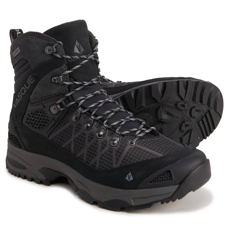 Vasque Mens Saga Leather Gtx Gore Tex Wateproof Hiking Boot