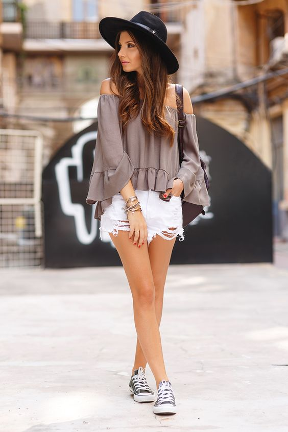 25 Edgy Converse Girls Outfits For Summer Styleoholic