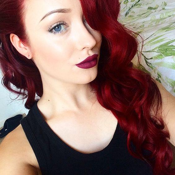 2016 Long Hair Green Eyes