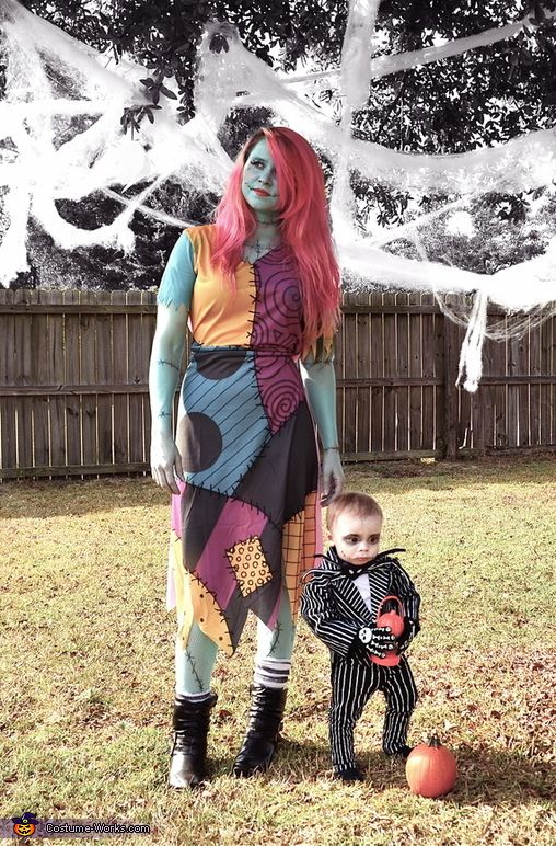 Picture Of Jack Skellington And Sally Costumes For The Mom