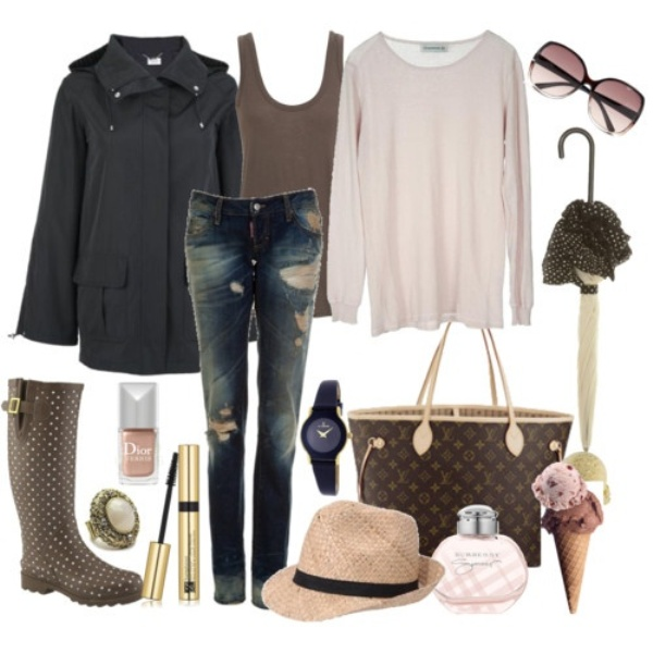Fall Outfits Polyvore Plus Size