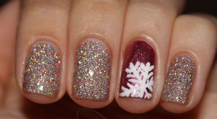 Picture Of Awesome Winter Nail Art Ideas 2
