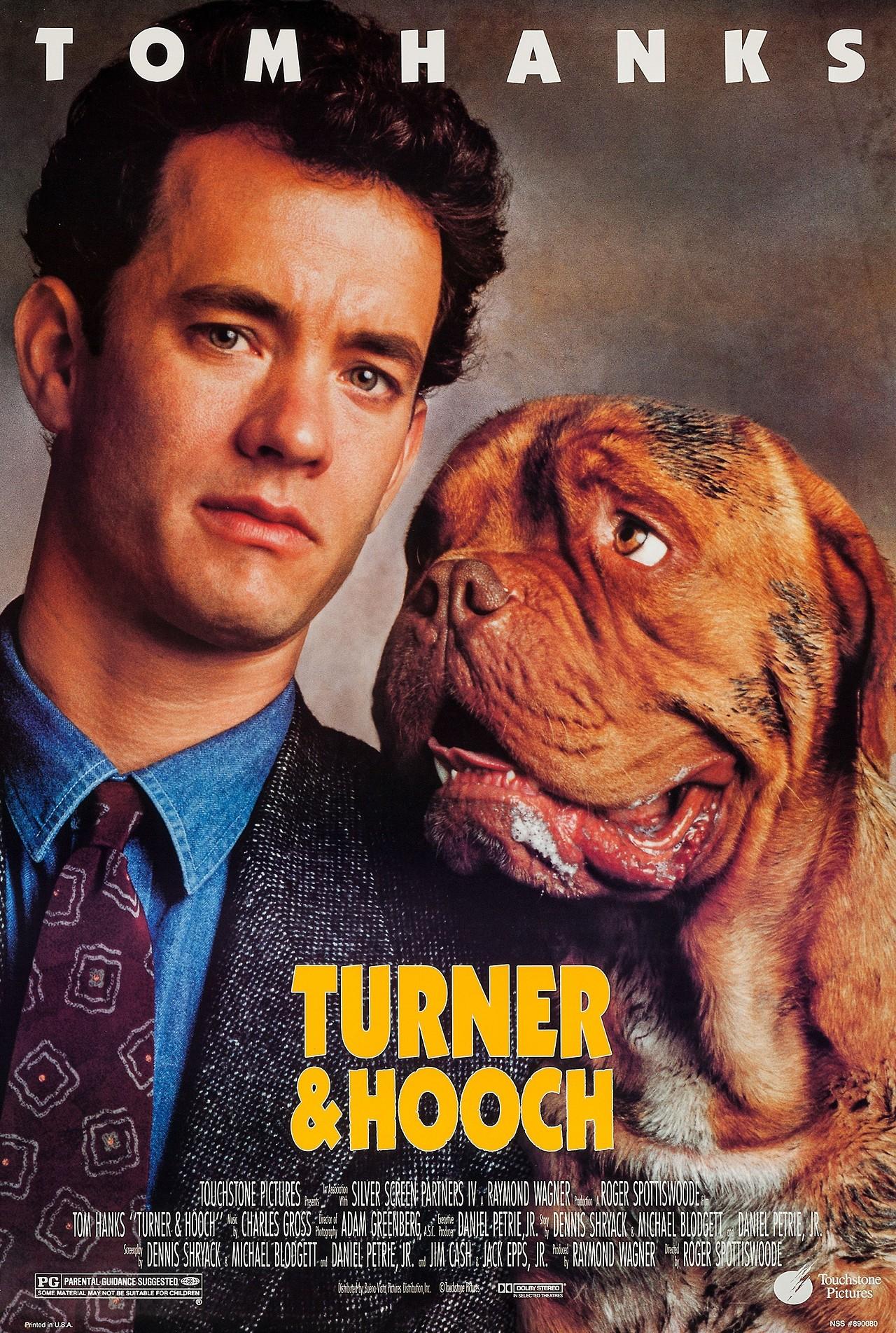 Turner & Hooch Subtitle Indonesia
