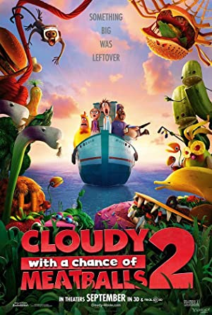 Cloudy with a Chance of Meatballs 2 Subtitle Indonesia