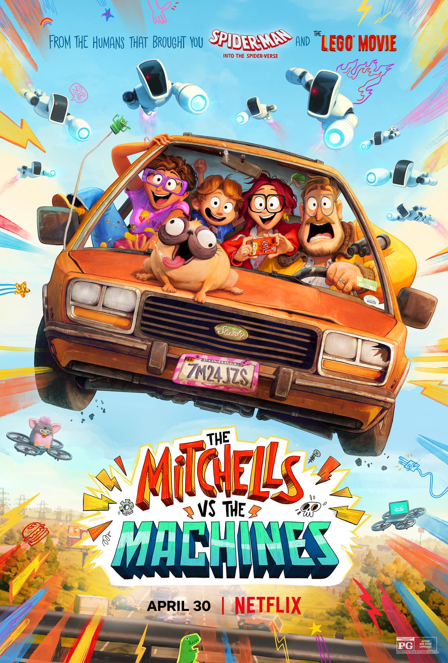 The Mitchells vs. the Machines Subtitle Indonesia