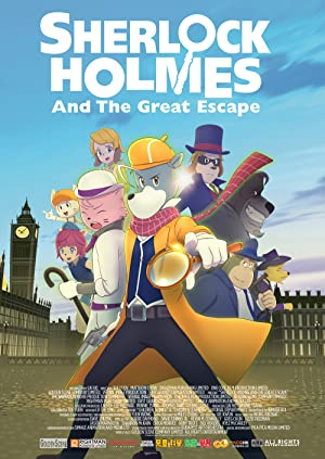 Sherlock Holmes and the Great Escape Subtitle Indonesia