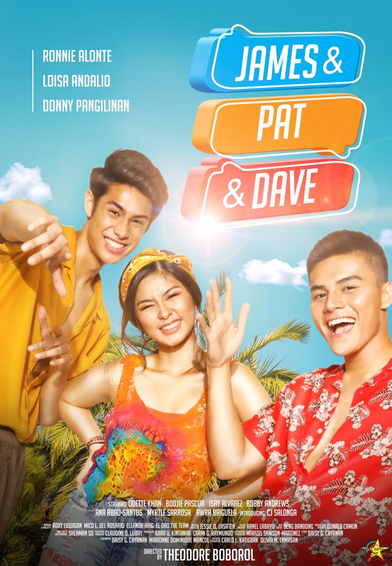 James & Pat & Dave Subtitle Indonesia