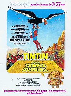 Tintin and the Temple of the Sun Subtitle Indonesia