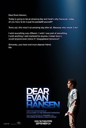 Dear Evan Hansen Subtitle Indonesia